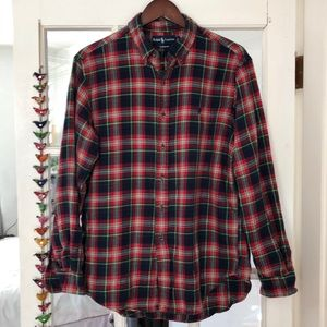 Ralph Lauren Men's Long Sleeve Flannel. L